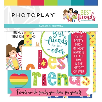PhotoPlay BEST FRIENDS Ephemera bff9638