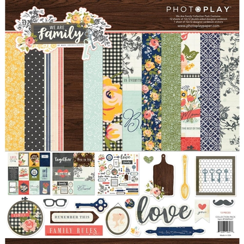 PhotoPlay WE ARE FAMILY 12 x 12 Collection Pack fam9647 Preview Image