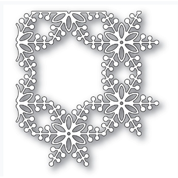 Memory Box BAUBLE SNOWFLAKE CORNER Craft Die 94336