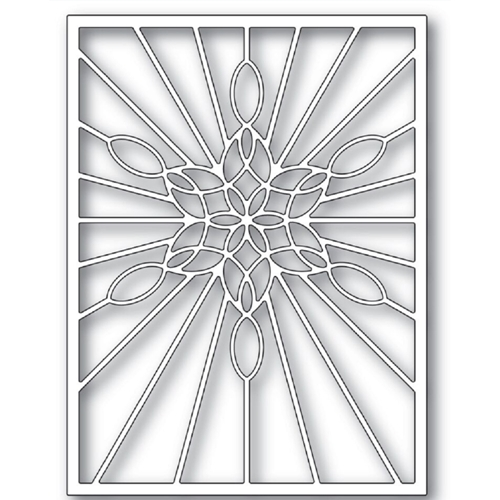 Poppy Stamps STAINED GLASS SNOWFLAKE WINDOW Craft Die 2273 Preview Image
