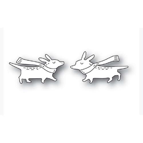 Poppy Stamps WHITTLE CORGIS Craft Dies 2282 Preview Image