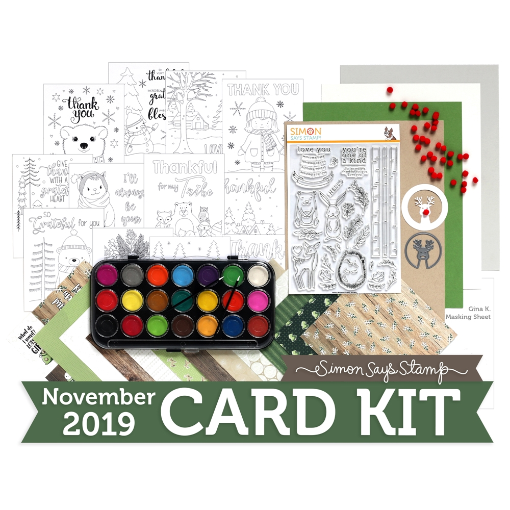 Simon Says Stamp Card Kit of the Month - November