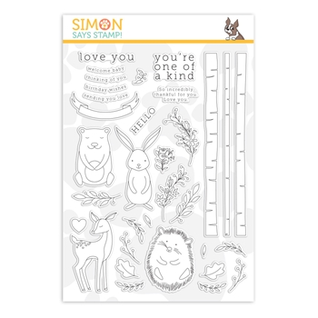 Simon Says Clear Stamps WOODLAND WHIMSY sss201906