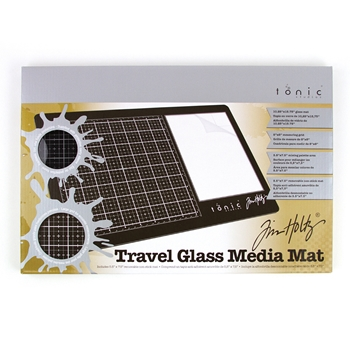 Tim Holtz Tonic TRAVEL GLASS MEDIA MAT 2633e