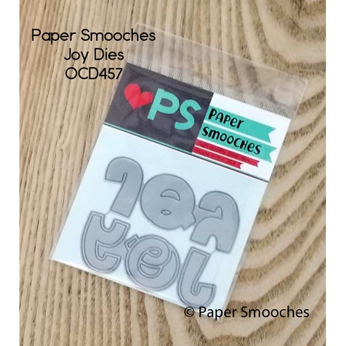 Paper Smooches JOY Wise Dies OCD457 Preview Image