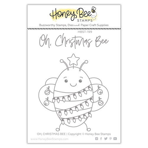 Honey Bee OH CHRISTMAS BEE Clear Stamp Set hbst-199 Preview Image