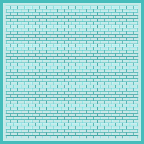 Honey Bee PERFECT BRICKS BACKGROUND Stencil hbsl-035 Preview Image