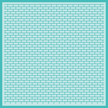 RESERVE Honey Bee PERFECT BRICKS BACKGROUND Stencil hbsl-035