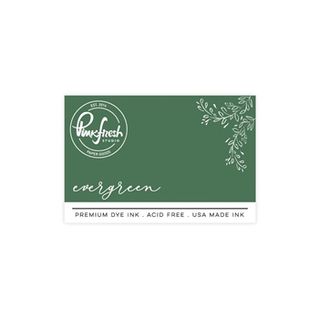 PinkFresh Studio EVERGREEN Dye Ink Pad pfdi009