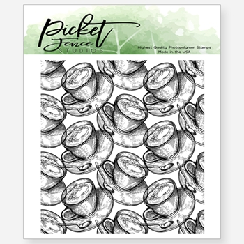 Picket Fence Studios BREW A CUP Clear Stamp bb131
