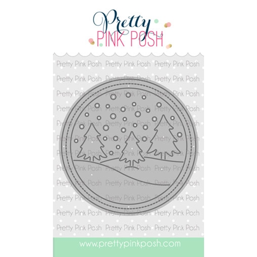 Pretty Pink Posh WINTER SCENE Die  Preview Image