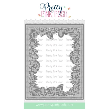 Pretty Pink Posh WINTER FRAME Die