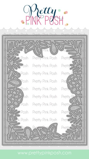 Pretty Pink Posh WINTER FRAME Die zoom image