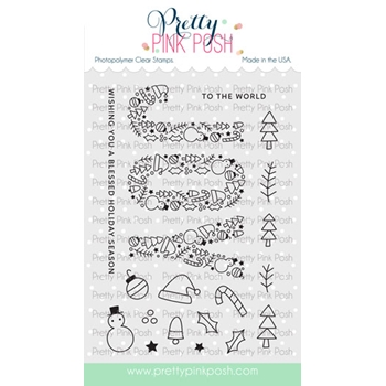 Pretty Pink Posh JOY Clear Stamps