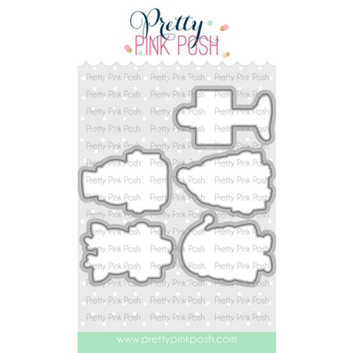 Pretty Pink Posh HOLIDAY SIGNS Dies  Preview Image