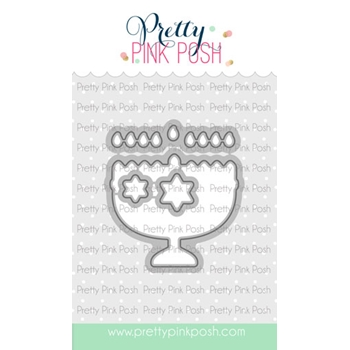 Pretty Pink Posh HAPPY HANUKKAH Dies