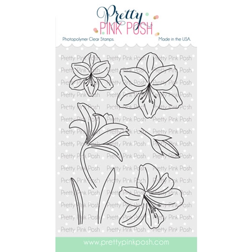 Pretty Pink Posh AMARYLLIS Clear Stamps Preview Image