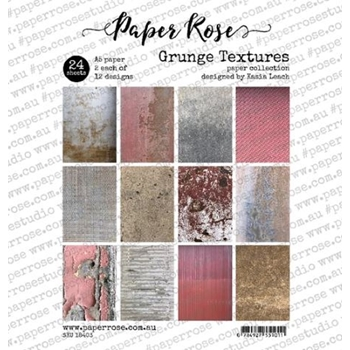 Paper Rose GRUNGE TEXTURES Paper Pack 18403