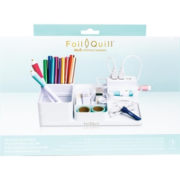 We R Memory Keepers FOIL QUILL USB MODULAR STORAGE 661178