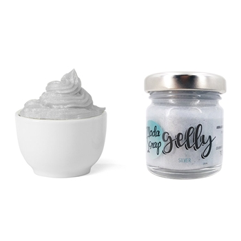 ModaScrap SILVER GELLY Gel Paste msge1003