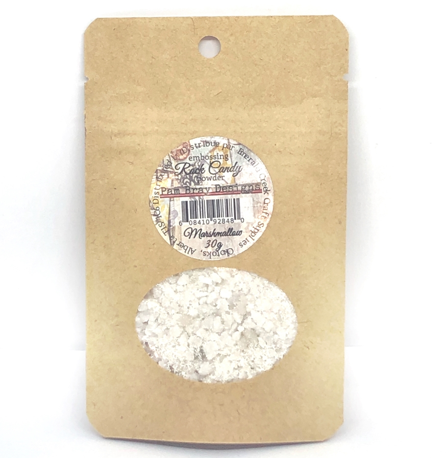 Emerald Creek MARSHMALLOW Rock Candy Embossing Powder pbdrcmm zoom image