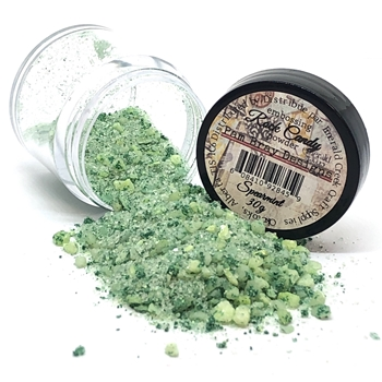 Emerald Creek SPEARMINT Rock Candy Embossing Powder pbdrcsp