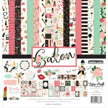 Echo Park SALON 12 x 12 Collection Kit sal196016