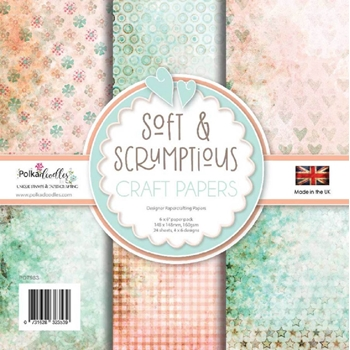 Polkadoodles SOFT AND SCRUMPTIOUS 6x6 Paper Pack pd7983