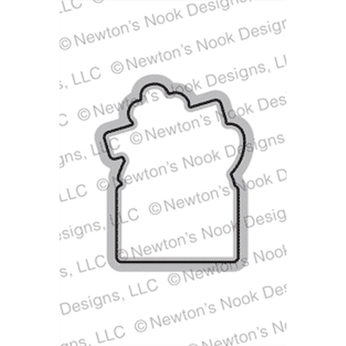 Newton's Nook Designs PURR-FECT PRESENT DIE Set NN1910D06 Preview Image