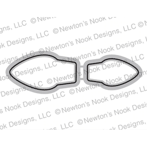 Newton's Nook Designs HOLIDAY LIGHTS Dies NN1910D05 Preview Image