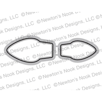 Newton's Nook Designs HOLIDAY LIGHTS Dies NN1910D05