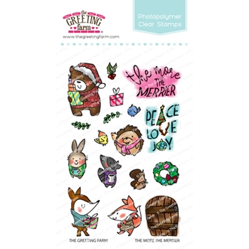 The Greeting Farm THE MORE THE MERRIER Clear Stamps TGF513