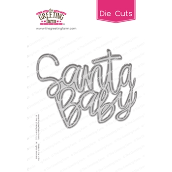 The Greeting Farm SANTA BABY Word Die Cuts TGF516