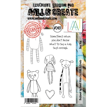 AALL & Create DOG TOYS 249 A6 Clear Stamps aal00249