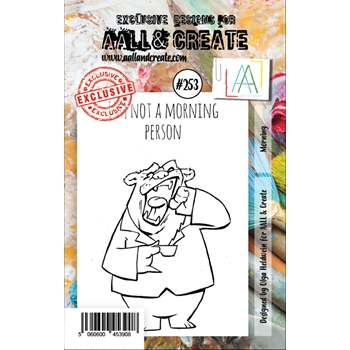 AALL & Create MORNING 253 A7 Clear Stamps aal00253