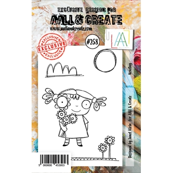 AALL & Create NEW DAY 258 A7 Clear Stamps aal00258