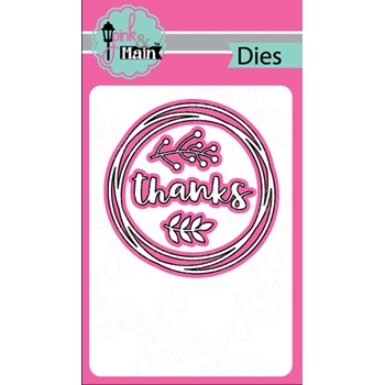 Pink and Main WREATH BASE 2 Dies PNM244