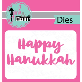 Pink and Main BOLD HANUKKAH Dies PNM248