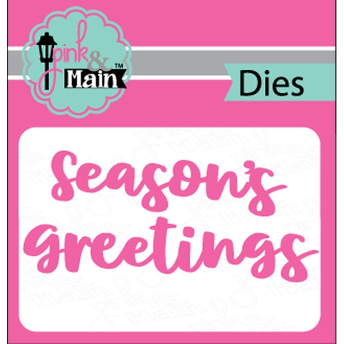 Pink and Main BOLD GREETINGS Dies PNM246 Preview Image