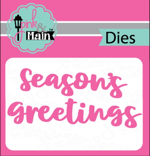 Pink and Main BOLD GREETINGS Dies PNM246 zoom image