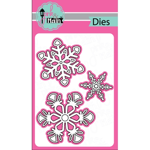 Pink and Main BOLD SNOWFLAKES Dies PNM249 Preview Image