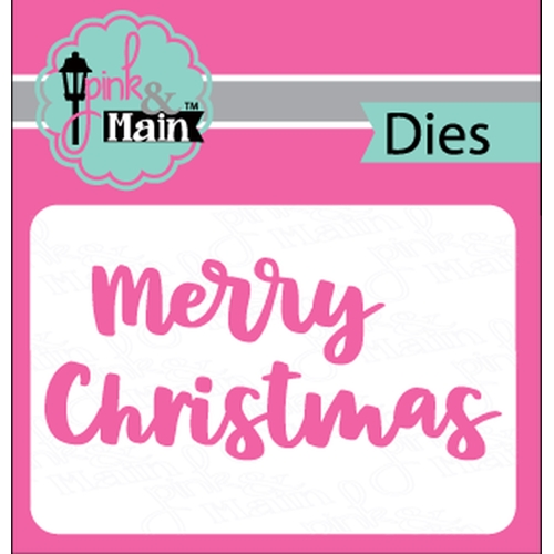 Pink and Main BOLD CHRISTMAS Dies PNM245 Preview Image