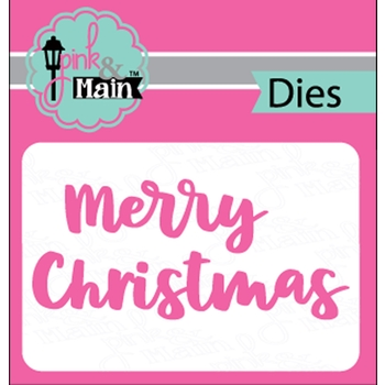 Pink and Main BOLD CHRISTMAS Dies PNM245