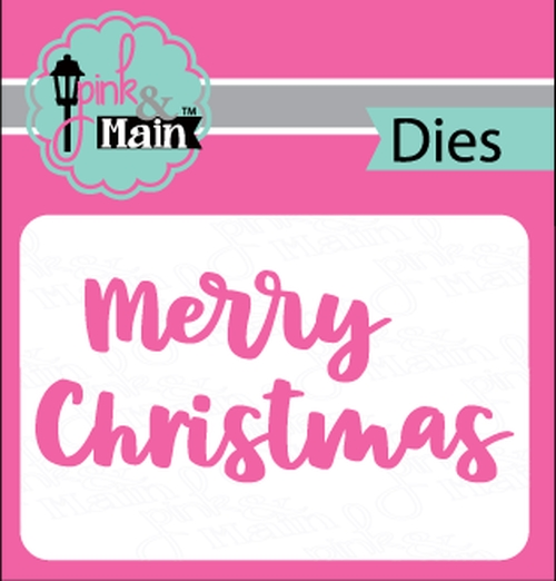 Pink and Main BOLD CHRISTMAS Dies PNM245 zoom image