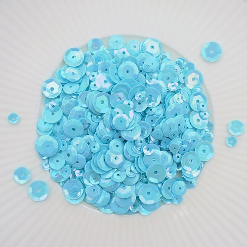 Little Things From Lucy's Cards SWIMMING POOL Sequin Mix LBSM40 Preview Image