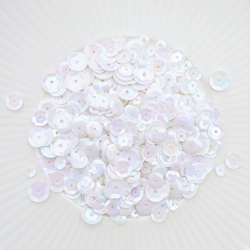 Little Things From Lucy's Cards VANILLA CREAM Sequin Mix LBSM38 Preview Image
