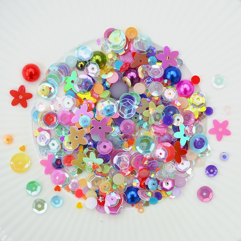 Little Things From Lucy's Cards JAMBOREE Sequin Shaker Mix LB286 zoom image