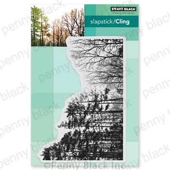 Penny Black Cling Stamp WINTER WOODLAND 40-712