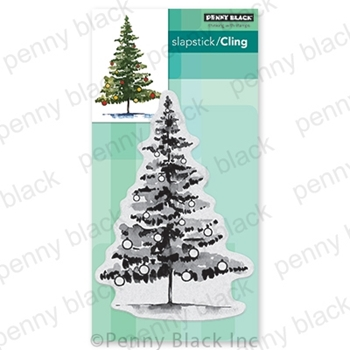 Penny Black Cling Stamp BAUBLE BEAUTY 40-705
