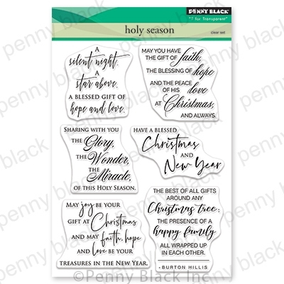 Penny Black Clear Stamps HOLY SEASON 30-648 Preview Image